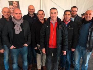 Les présidents des clubs Grand Rouen Vallée de Sine