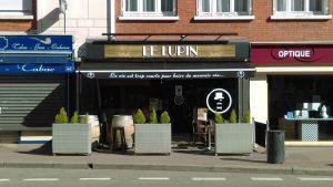 "La façade du bar ""le Lupin"" à Elbeuf"