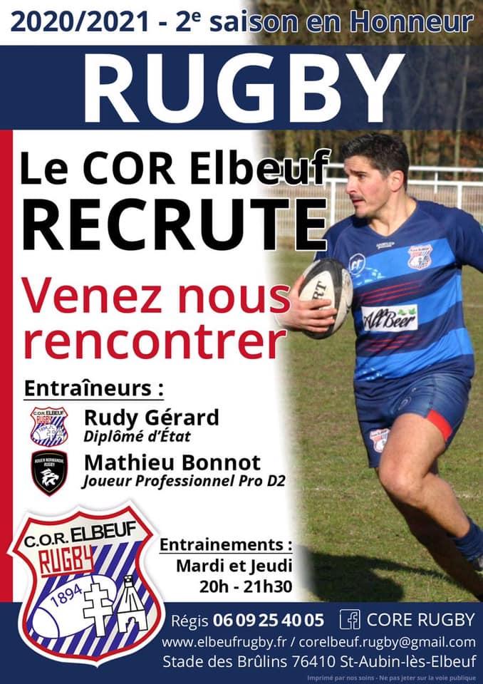 Cor Elbeuf recrutement